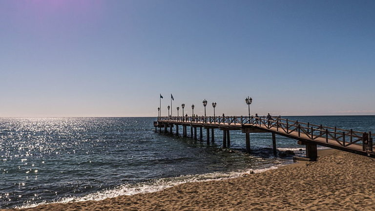 Marbella Golden Mile, Bridge view